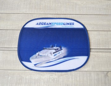 Aegean Speed Lines, Car Sun Shades