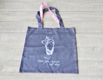 Μέγαρο Μουσικής, M Shop Δίχρωμη Υφασμάτινη Τσάντα