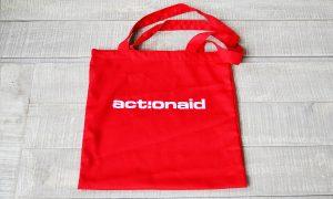 Actionaiud, custom made tote bag