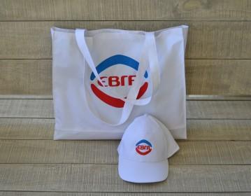 ΕΒΓΑ, Πολυεστερική Τσάντα & Καπέλο για Προωθήτριες