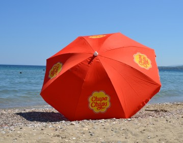 Chupa Chups Beach Umbrella