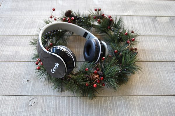 Google Chistmas Party Wireless Headphones