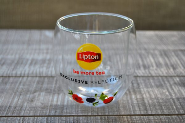 Unilever Lipton Double Wall Glass