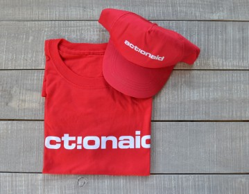 Action Aid T shirt Baseball Cap