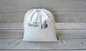 Athens Insiders Drawstring Bag