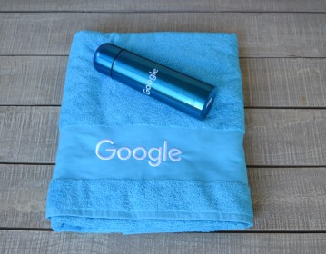 Google, Beach Towel & Stainless steel Vacuum Flask