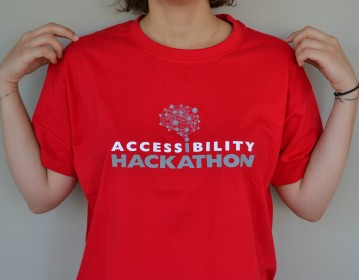 Eugenides Foundation Hackathon T shirt