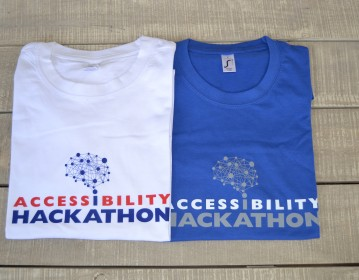 Eugenides Foundation Hackathon T shirts