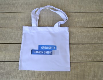 Google, GGTO Santorini Event Υφασμάτινη Τσάντα