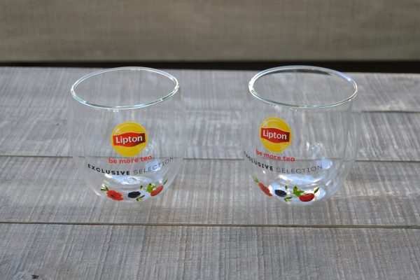 Unilever Lipton Double Wall Glasses