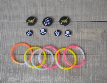 Valuecom Nike Project Glowing Bracelets Badges