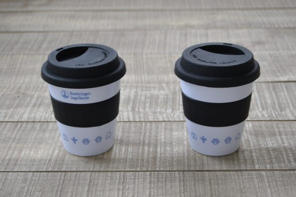 Boehringer Ingelheim Mug with Silicone Lid