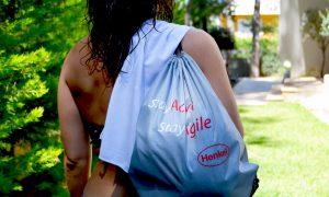 gym drawstring backpack, Henkel