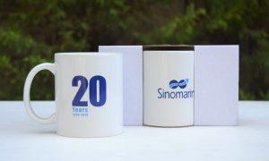 20 years anniversary mug