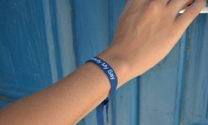 Unilever Dove Custom Bracelet