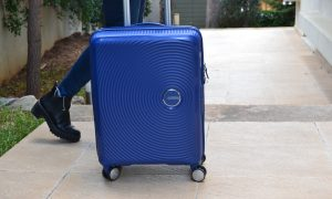 trolley cabin bag American Tourister