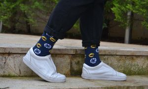 Instructure UK Canvas Pacman Socks