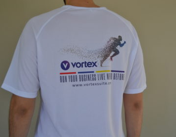Data Consulting Vortex Running T shirt
