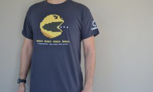 Instructure UK Pacman T shirt