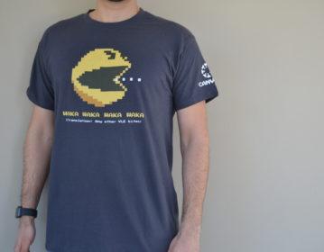 Instructure UK Pacman T shirt