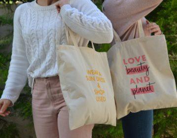 Unilever, Love Beauty & Planet Υφασμάτινες Τσάντες