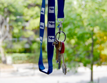 Valuecom Facebook Lanyard
