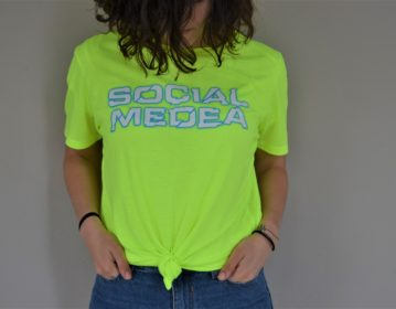 Live Experiences Party, Fluo Staff T Shirt