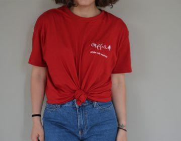 Syrma Cafe, Staff T Shirt