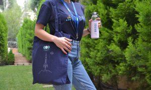 Instructure BridgeCon T shirt Tote Bag Lanyard Water Bottle