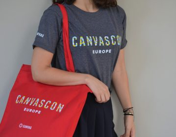 Instructure, Canvascon T shirt & Tote Bag