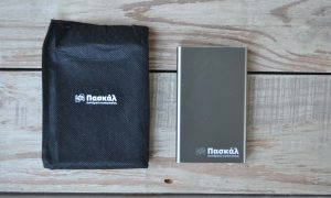 Pascal Packaging Power Bank in Pouch