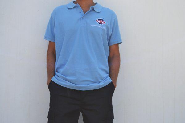 ΚΡΙ Μπλούζα Πόλο Παντελόνι Οδηγών Γαλακτομικών