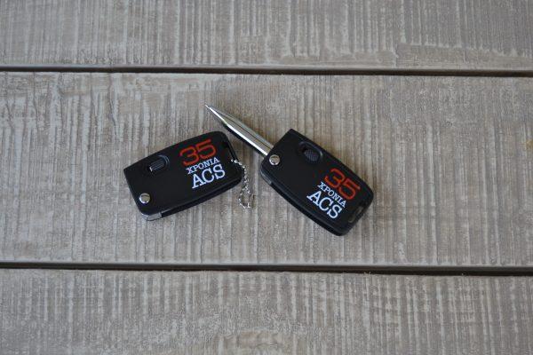 ACS Επετειακό Μπρελόκ Φακός για τα 35 Χρόνια ACS
