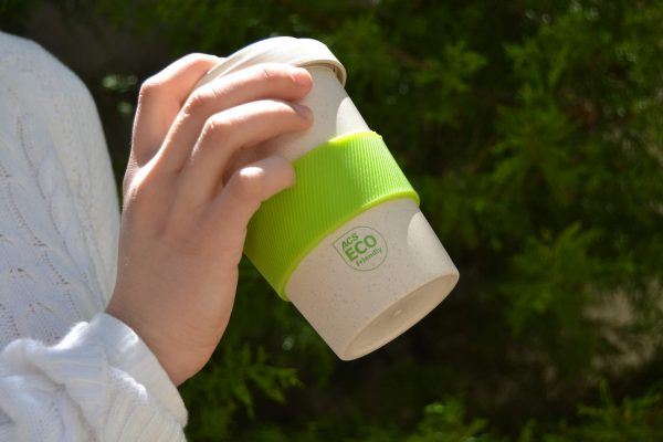 ACS Bamboo Travel Mug with Silicone Lid Ring 1