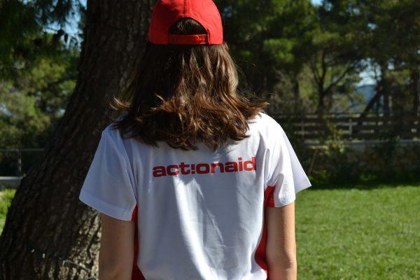 Actionaid Τεχνητή Μπλούζα για Τρέξιμο Καπέλο