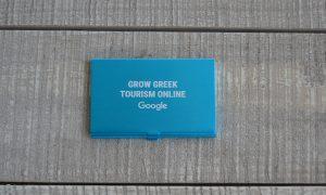 Google Θήκη Αλουμινίου για Επαγγελματικές Κάρτες