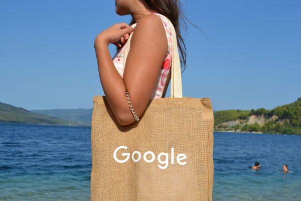 Google Jute Bag
