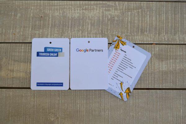 Live Experiences Google Καρτελάκια Εισόδου Συνεδρίων