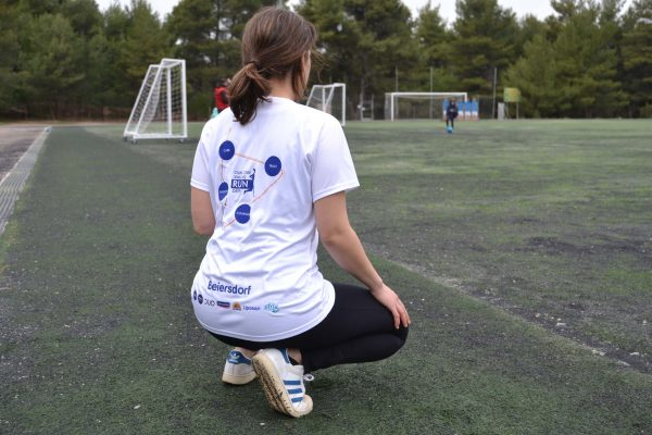 Nivea Beiersdorf Τεχνητή Μπλούζα για Τρέξιμο Πίσω