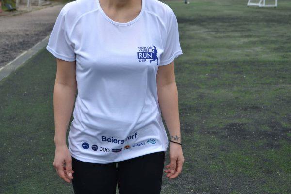 Nivea Beiersdorf Τεχνητή Μπλούζα για Τρέξιμο