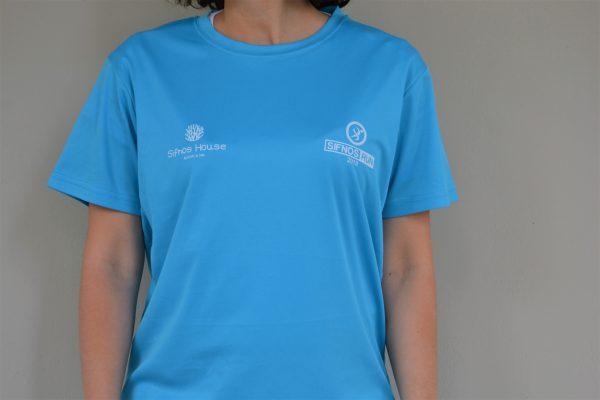 Sifnos Run Τεχνητή Μπλούζα για Τρέξιμο