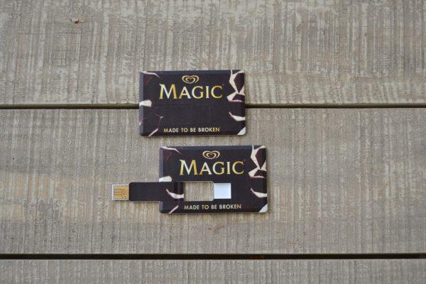 Unilever Παγωτό Magic Κάρτα Usb