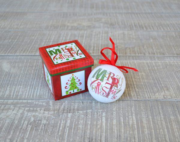 Unilever Χριστουγεννιάτικη Μπάλα σε Χριστουγεννιάτικη Συσκευασία