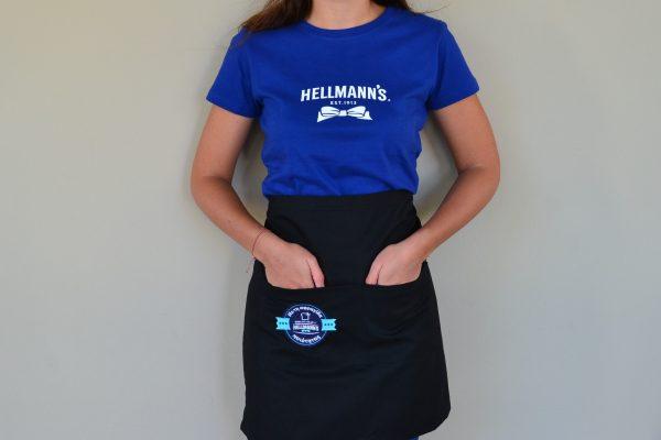 Unilever Hellmanns Μπλούζα Ποδιά Προωθητριών