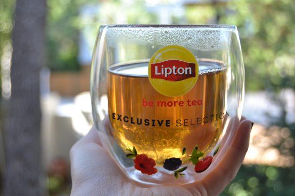 Unilever Lipton Γυάλινη Κούπα με Διπλό Τοίχωμα