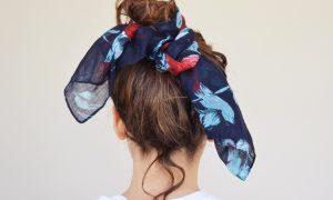 Unilever Timotei chiffon scarf