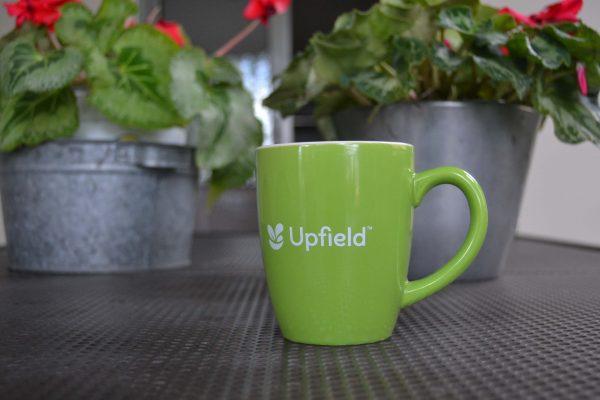 Upfield κεραμική κούπα