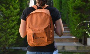 Valuecom Σχολικές Τσάντες Κάθε μια Τυπωμένη με Διαφορετικό Όνομα