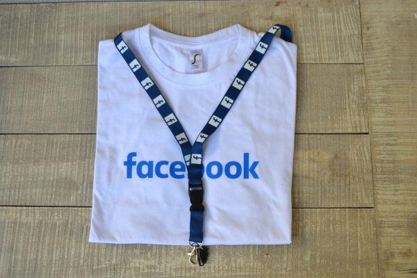 Valuecom Facebook Μπλούζα Κορδόνι Λαιμού