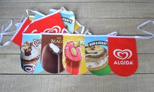 Unilever Algida Γιρλάντα με Σημαιάκια
